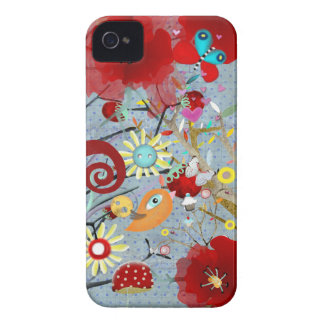 The Huge Poppy iPhone 4 Case-Mate Case