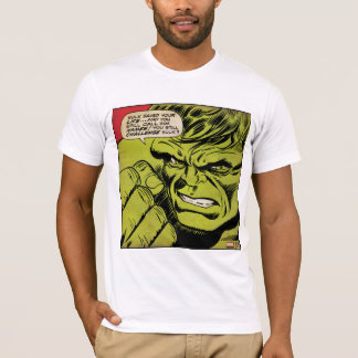 "The Hulk ""Challenge"" Comic Panel T-Shirt"