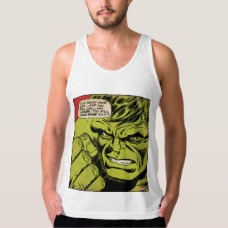 "The Hulk ""Challenge"" Comic Panel Tank Top"