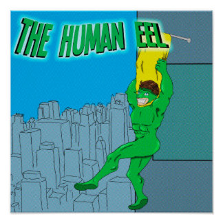 The Human Eel Poster