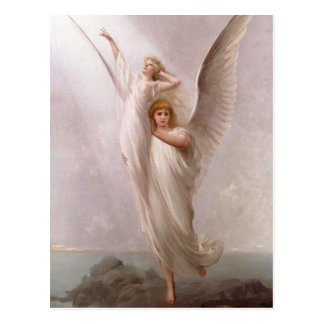 The Human Soul ~ (angel / angels) ~ Postcard