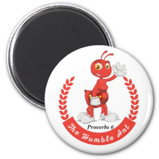 The Humble Ant Logo Button Magnet