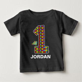 The Hungry Caterpillar Chalkboard 1st Birthday Baby T-Shirt