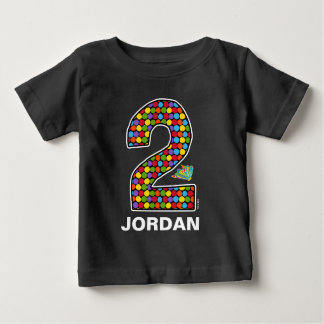 The Hungry Caterpillar Chalkboard 2nd Birthday Baby T-Shirt
