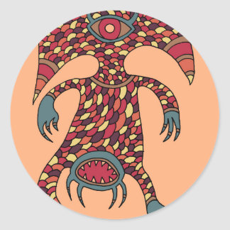 The Hungry Cyclops Classic Round Sticker