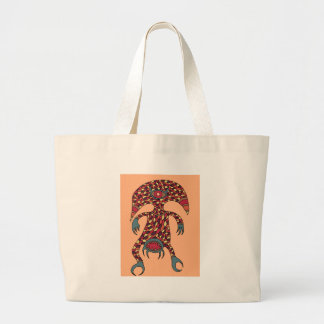 The Hungry Cyclops Large Tote Bag