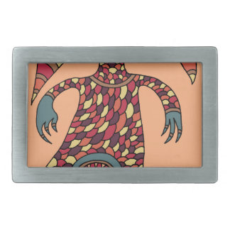 The Hungry Cyclops Rectangular Belt Buckles
