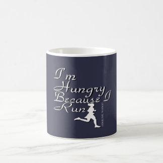 The Hungry Runner Girl Coffee Mug