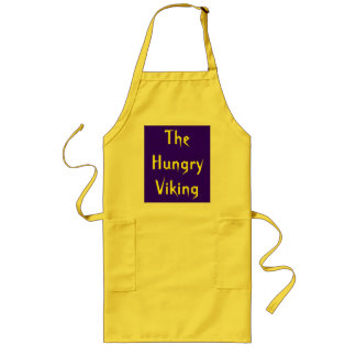The Hungry Viking Long Apron