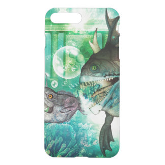 The hunter and hunted in the underwater world iPhone 7 plus case