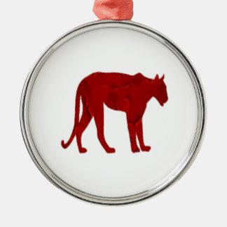 The Hunter Metal Ornament