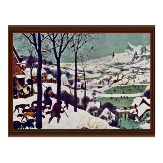 The Hunters In The Snow,  By Bruegel D. Ä. Pieter Postcard