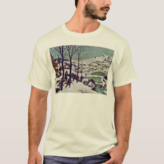 The Hunters In The Snow,  By Bruegel D. Ä. Pieter T-Shirt