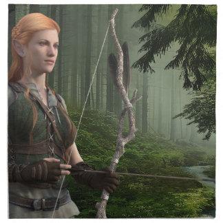 The Huntress Napkin