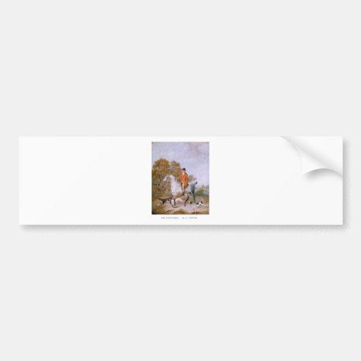 The Huntsman Bumper Sticker