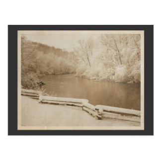 The Huron River Postcard