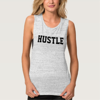 The Hustle | Women's Flowy Muscle Tank Top
