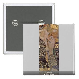The Hydra By Klimt Gustav Buttons