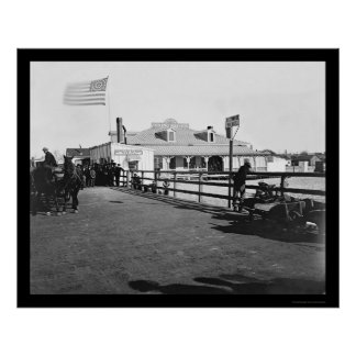 The Hygeia Dining Saloon at Fort Monroe 1864 Poster