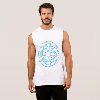 The Hypnotic Circles Sleeveless Shirt