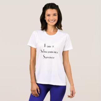 The I am a Schwannoma Survivor Women's sport Tek T T-Shirt