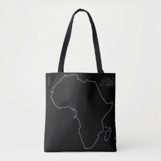 "The ""I Am Africa"" All Black Everything Tote"