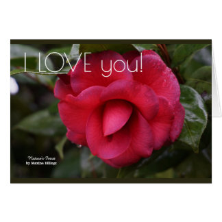 "The ""I LOVE you"" Greeting Card"