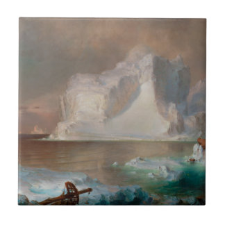 The Icebergs by Frederic Edwin Church 1861 Tile