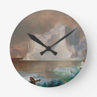 The Icebergs by Frederic Edwin Church 1861 Wallclock
