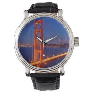The iconic bridge with San Francisco Watches