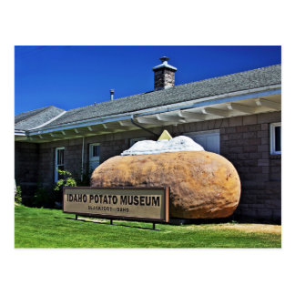 The Idaho Potato Museum Postcard