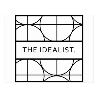 The idealist postcard