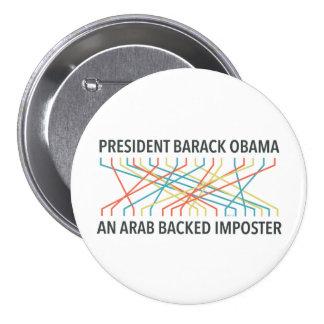 The Identity of Barack Obama 3 Inch Round Button