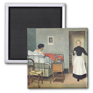 The Ill Child  1892 Magnet