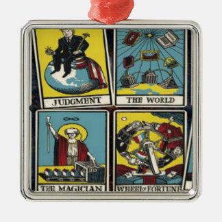 THE ILLUMINATI CARD GAME METAL ORNAMENT
