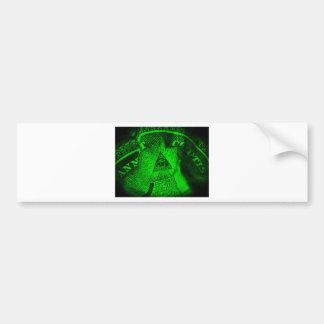 The Illuminati Eye Bumper Sticker