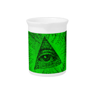The Illuminati Eye Pitcher