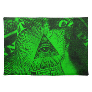 The Illuminati Eye Placemat
