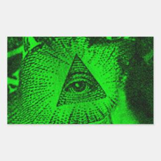 The Illuminati Eye Sticker