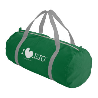 The ILOVE.RIO Duffle Gym Bag