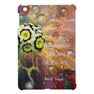 The imagination is a powerful tool in our life iPad mini cover
