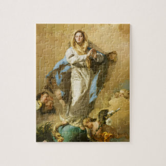 The Immaculate Conception by Giovanni B. Tiepolo Jigsaw Puzzle
