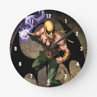 The Immortal Iron Fist Round Clock