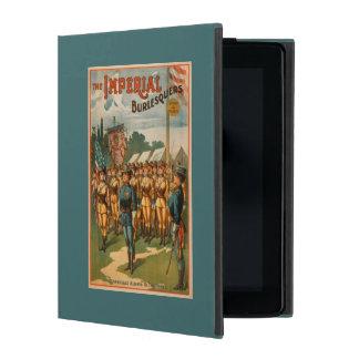 The Imperial Burlesquers Female Soldiers Play iPad Folio Case
