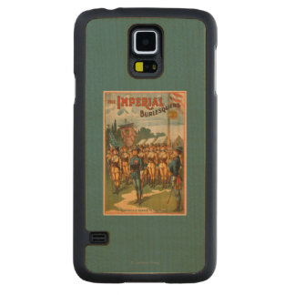 The Imperial Burlesquers Female Soldiers Play Maple Galaxy S5 Slim Case