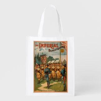 The Imperial Burlesquers Female Soldiers Play Market Tote