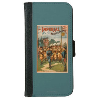 The Imperial Burlesquers Female Soldiers Play iPhone 6 Wallet Case