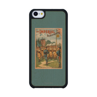 The Imperial Burlesquers Female Soldiers Play Carved® Maple iPhone 5C Slim Case