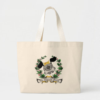 The Imperial Pooch Jumbo Tote Bag