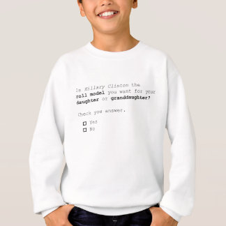 The important 2016 presidential Question Sweatshirt